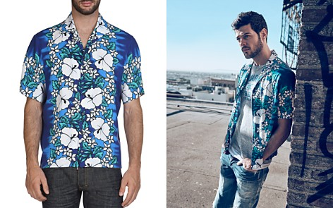DSQUARED2 Tropical Short Sleeve Button-Down Shirt - Bloomingdale's_2