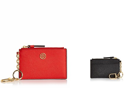 Tory Burch Robinson Leather Card Case - Bloomingdale's_2