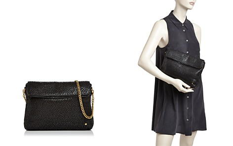 Halston Heritage Tina Double Flap Convertible Leather Clutch - Bloomingdale's_2