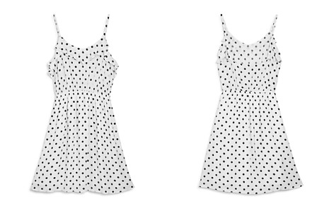 AQUA Girls' Ruffled Polka Dot Dress, Big Kid - 100% Exclusive - Bloomingdale's_2