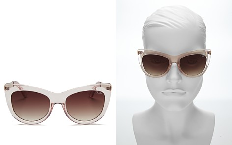 Quay Women's Steal A Kiss Sunglasses, 55mm - Bloomingdale's_2