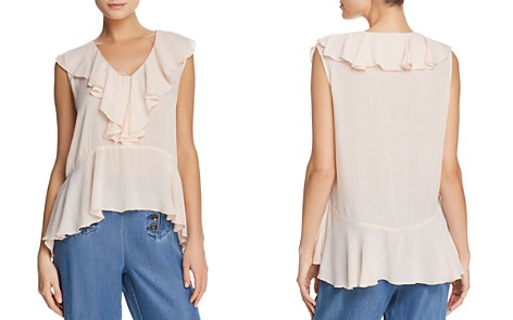 Ella Moss Ruffled Peplum Top - Bloomingdale's_2