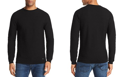 Emporio Armani Textured Knit Sweater - Bloomingdale's_2