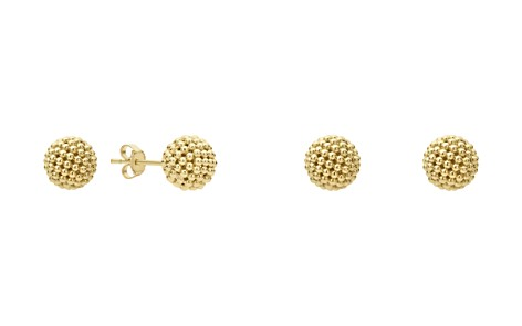 LAGOS Caviar Gold Collection 18K Gold Stud Earrings - Bloomingdale's_2