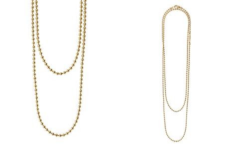 "LAGOS Caviar Gold Collection 18K Gold Ball Chain Necklace, 34"" - Bloomingdale's_2"