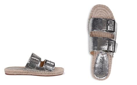 Splendid Women's Blake Leather Espadrille Slide Sandals - Bloomingdale's_2