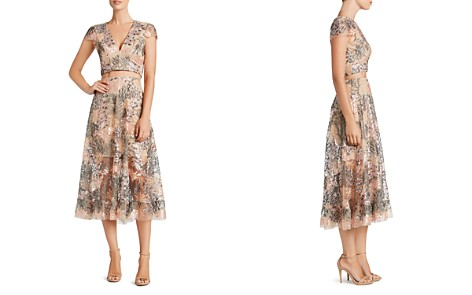 Dress the Population Juliana Crop Top & Skirt Set - Bloomingdale's_2