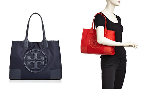 Tory Burch Ella Nylon & Leather Mini Tote - Bloomingdale's_2
