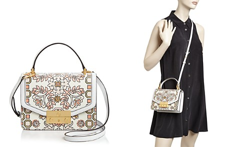 Tory Burch Juliette Printed Mini Leather Satchel - Bloomingdale's_2