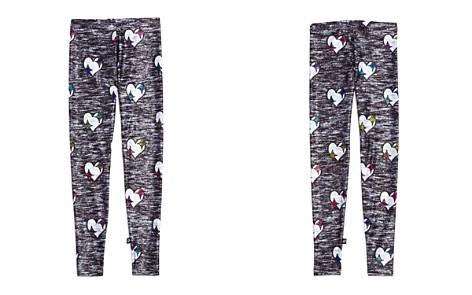 Terez Girls' Heathered-Print Heart Leggings - Big Kid - Bloomingdale's_2
