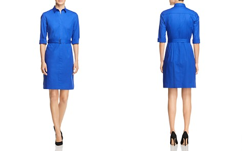 BOSS Dashiri Belted Shirt Dress - Bloomingdale's_2