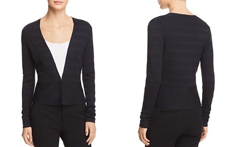 BOSS Farlotte Textured Striped Cardigan - Bloomingdale's_2