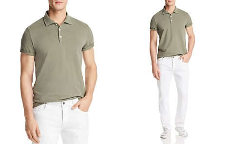 The Men's Store at Bloomingdale's Piqué Short Sleeve Polo Shirt - 100% Exclusive_2