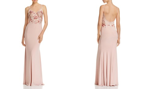 Avery G Embellished-Bodice Gown - Bloomingdale's_2