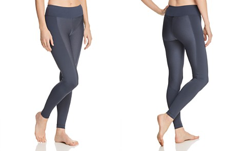 KORAL Marina Textured-Inset Leggings - Bloomingdale's_2