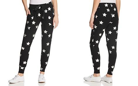 Terez Metallic Star Print Jogger Pants - Bloomingdale's_2