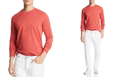The Men's Store at Bloomingdale's Garment Dyed Crewneck Sweatshirt - 100% Exclusive_2