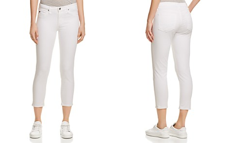 AG Prima Crop Jeans in White - Bloomingdale's_2
