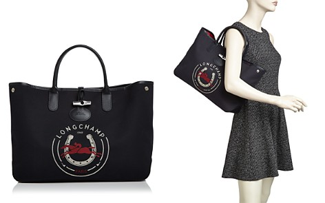 Longchamp 1948 Large Canvas Tote - Bloomingdale's_2