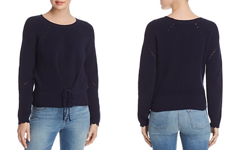 Joie Balere Lace-Up Sweater - Bloomingdale's_2