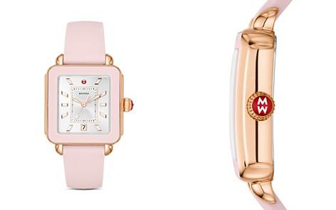 MICHELE Deco Pink Sport Watch, 34mm x 36mm - Bloomingdale's_2
