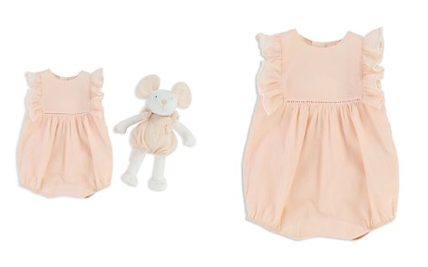 Chloé Girls' Ruffled Coverall & Mouse Set - Baby - Bloomingdale's_2