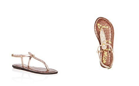 Sam Edelman Girls' Glitter Gigi Charm Thong Sandals - Toddler, Little Kid, Big Kid - Bloomingdale's_2
