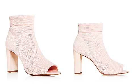Avec Les Filles Women's Mariah Knit High-Heel Booties - Bloomingdale's_2