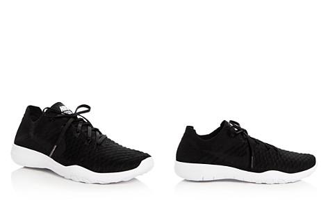 Nike Women's Free Flyknit Lace Up Sneakers - Bloomingdale's_2