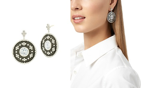 Freida Rothman Large Oval Drop Earrings - Bloomingdale's_2