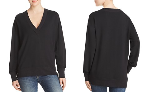 rag & bone/JEAN V-Neck Sweatshirt - Bloomingdale's_2