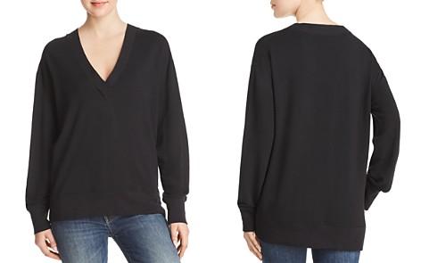 rag & bone/JEAN V-Neck Sweatshirt - Bloomingdale's_2