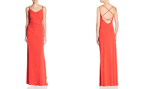 Laundry by Shelli Segal Ruched Jersey Gown - 100% Exclusive - Bloomingdale's_2