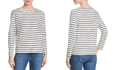 J Brand Remy Striped Top - Bloomingdale's_2