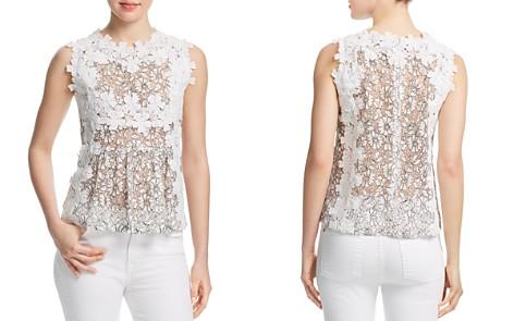 AQUA Daisy Appliquéd Lace Top - 100% Exclusive - Bloomingdale's_2