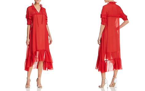 Sandro Joy Midi Dress - 100% Exclusive - Bloomingdale's_2