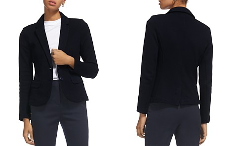 Whistles Slim Knit Blazer - Bloomingdale's_2