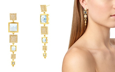 Frieda Rothman Ocean Azure Line Earrings - Bloomingdale's_2