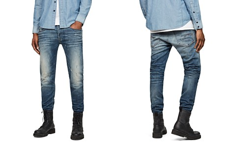 G-STAR RAW 3301 Super Slim Jeans in Vintage Blue - Bloomingdale's_2