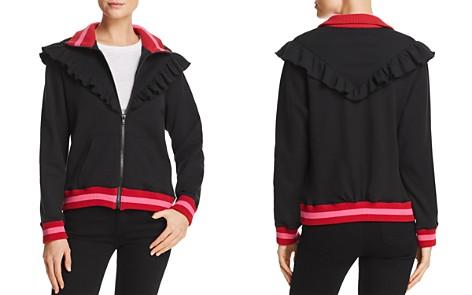 Joie Deetra Ruffled Zip-Front Sweatshirt - Bloomingdale's_2