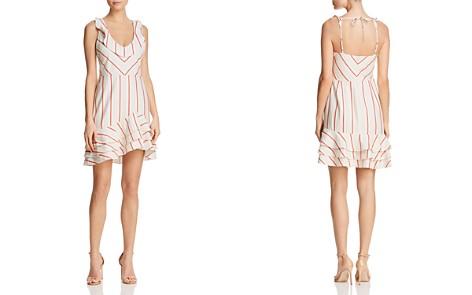 Parker Aldo Striped Flounce Dress - Bloomingdale's_2