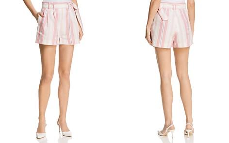 Parker Sage Striped Shorts - Bloomingdale's_2