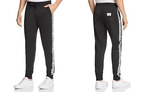 Calvin Klein Logo Taped Tricot Track Pants - 100% Exclusive - Bloomingdale's_2