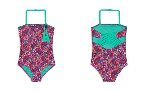 Hula Star Girls' Paisley Dream Swimsuit - Little Kid - Bloomingdale's_2