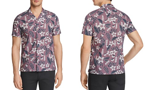 Ted Baker Bloflo Regular Fit Button-Down Shirt - 100% Exclusive - Bloomingdale's_2