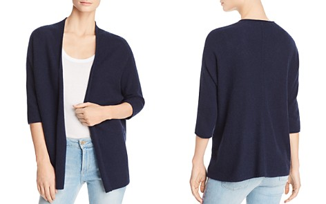 Minnie Rose Open-Front Cashmere Cardigan - Bloomingdale's_2