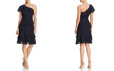 Adelyn Rae Trixie One-Shoulder Lace Dress - Bloomingdale's_2
