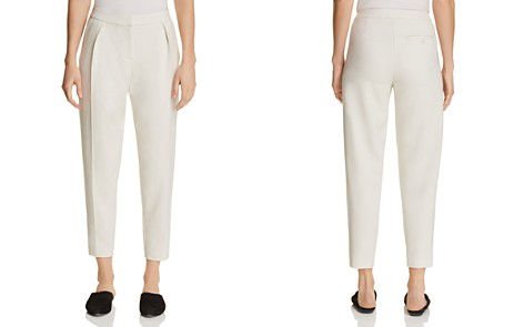 Eileen Fisher Petites Pleated Ankle Pants - Bloomingdale's_2