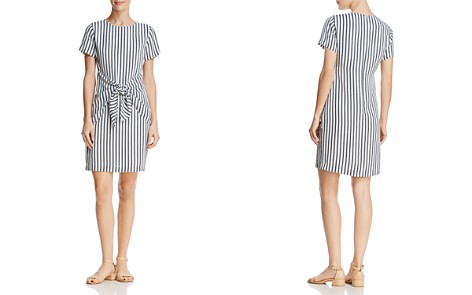 Dylan Gray Striped Tie-Front Dress - Bloomingdale's_2