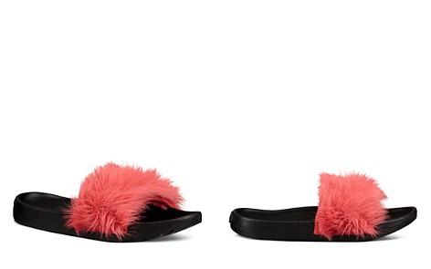 UGG® Royale Shearling Pool Slide Sandals - Bloomingdale's_2